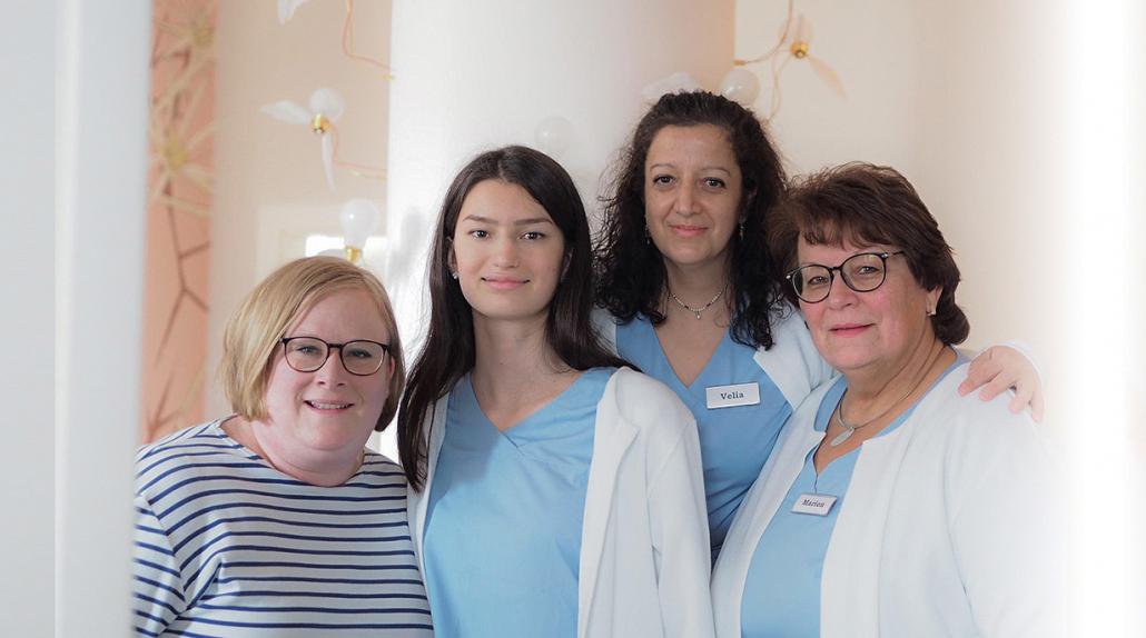 Team Hausarztpraxis Spiekermann